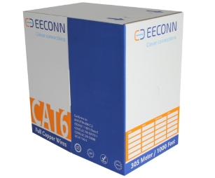 EECONN Cat6 UTP Massief PVC 305m